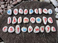 Montessori On A Budget: DIY - 'Small Moveable Alphabet'