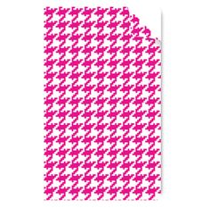 Houndstooth Pink Note book