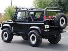 Land Rover Defender 90 NAS Edition. Soft top canvas.