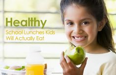Healthy School Lunches Kids Will Actually Eat | via @SparkPeople #food #SparkMoms #nutrition #recipe