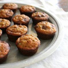 Zucchini Chocolate Chip Mini Muffins | Gluten-Free & Refined Sugar-Free