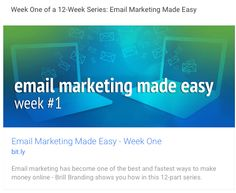 Email Marketing Made