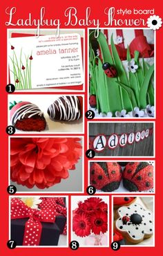 ladybug ideas for a baby shower   ladybug shower is a wonderful theme for an outdoor