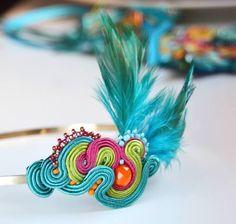 Farve Diadema Soutache pelo de Qlka Art Boutique
