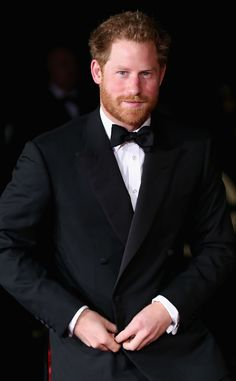 Prince Harry from The Big Picture: Today's Hot Pics  The royal appears to have gotten a jump on Movember.