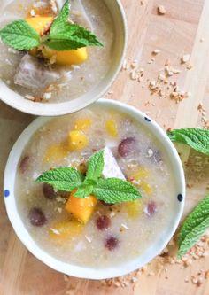 Tapioca Young Coconut Taro Pudding (paleo, AIP, vegan)