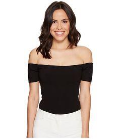 HALSTON HERITAGE Margaux Ribbed Jersey Bodysuit. #halstonheritage #cloth #shirts & tops