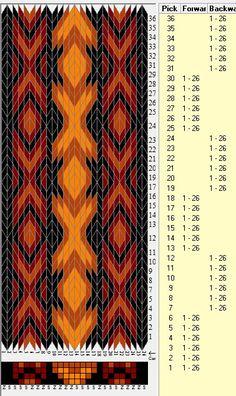 26 tarjetas, 4 colores, secuencias 6F-6B // sed_366 diseñado en GTT༺❁