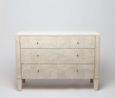 Shagreen Dresser | Made Goods  48 x 20 x 34h.  Nightstand?