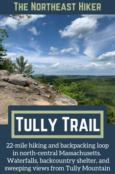The Tully Trail is a 22 mile hiking and backpacking loop in north-central Massachusetts with lake access, beautiful views, waterfalls, and a shelter for backpackers Landscape Photography Tips, Scenic Photography, Landscape Photos, Night Photography, Park Trails, Hiking Trails, Backpacking For Beginners, Backpacking Trips, Waterfall Trail