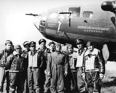 Memphis Belle and Crew, England, 1943 McMahan Photo Archive Fine Art Print Poster