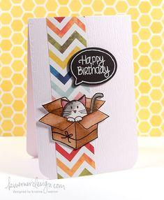 Happy Birthday card by Kristina Werner