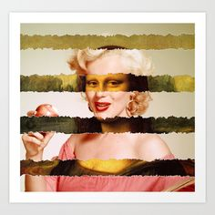 Take the two most famous female icons in art and cinema.  Mash them together. Enjoy the result. Mona Lisa and Marylin Monroe in a new image you've never seen before, for the last entry of my serie of pop art mashups.