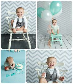 Preppy baby party ideas