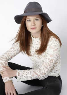 "Love Bonnie Wright ""Ginny"" on Harry Potter"