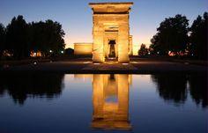 el Templo Debod en el Parque del Oeste - Lo mejor lugar para descansar, tomar, correr, comer, pensar... <3