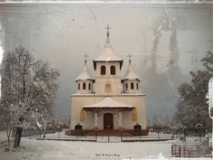 winter church by robin & simona benea, via Flickr