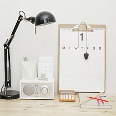 Clipboard calendar/organizer