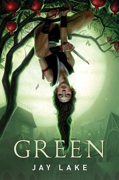 Green by Jay Lake. Art by Dan Dos Santos.