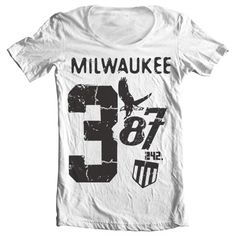 New in shop. Milwaukee 387 Wid...  http://www.tshirt-sjappa.no/products/milwaukee-387-wide-neck-tee?utm_campaign=social_autopilot&utm_source=pin&utm_medium=pin