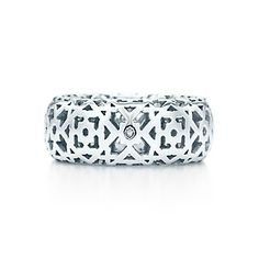 Paloma's Marrakesh ring in sterling silver.