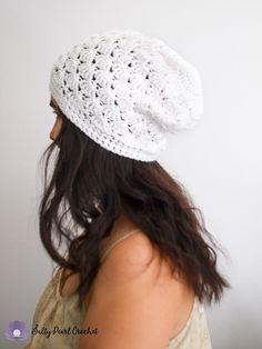 44c9f37ed71 Venus Shell Slouch Hat Crochet Pattern - Free Crochet Beanie Pattern