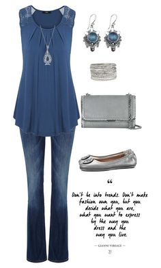"""Untitled #270"" by gdhlady on Polyvore featuring Lee, NOVICA, maurices, Tory Burch, Allurez and STELLA McCARTNEY"