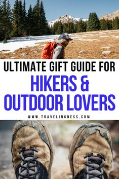 Need to get a gift for that hiker in your life? Finding the perfect gift can be challenging so I've put together plenty of hiking essentials and the best gifts for hikers that they will both use and love. Explore countless gift ideas for hikers and adventurers in this gift guide! #hiking #hikinggifts #giftguide #giftsforhikers Hiking Gifts, Travel Gifts, Hiking Essentials, Gift Guide, Best Gifts, Adventure, Adventure Game, Adventure Books