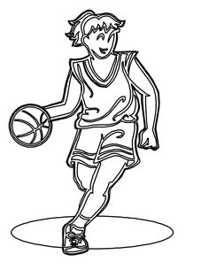 coloring pages basketball player kevin durant | coloring Pages ...