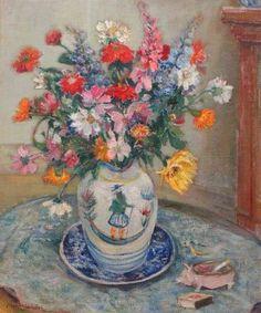 Charles Londot Floral Still Life 1922