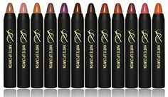 SXC Cosmetics Velvet Matte Lipstick Crayon ParabenTalc Free 12 Timeless Color Collection >>> Learn more by visiting the image link.Note:It is affiliate link to Amazon.