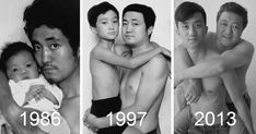 Father And Son Took The Same Picture For 28 Years – Until The Last One   Bored Panda