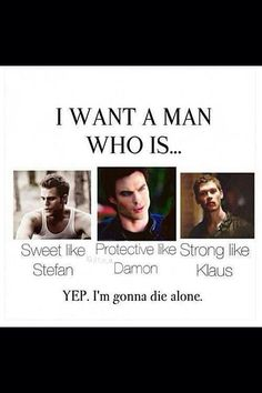 Stefan Salvatore, Damon Salvatore and Klaus Mikaelson.