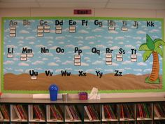 classroom word wall ideas | Tales from a Traveling Teacher: I LOVE SUBBING IN CLASSROOMS!