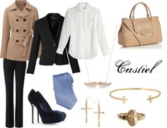 """Castiel"" by haleyanderson23 on Polyvore"