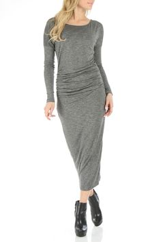 Dolan Draped Front Dress In Stone - @Beyond the Rack - 35