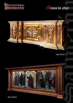 Mesas de altar Cathedral Basilica, Baroque Design, Gothic Furniture, Church Architecture, Church Building, God Pictures, Luxury Interior Design, Houzz, Temples