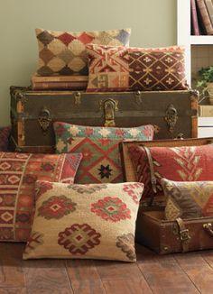 Grandin Road Accent Pillows!