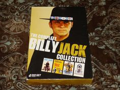 The Billy Jack Collection (DVD, 2009, 4-Disc Set) OOP Image Remastered Bikers!