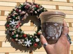 New Holiday Drinks at Starbucks in Disney Springs
