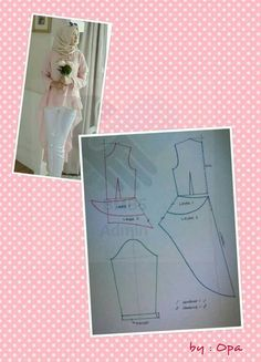27 likes 1 comments Pattern Cutting, Pattern Making, Fashion Sewing, Diy Fashion, Sewing Paterns, Modelista, Dress Making Patterns, Pattern Drafting, Kebaya