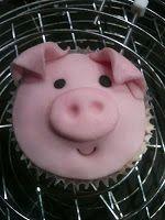 Le Torte di Marion: Cupcake Maialino