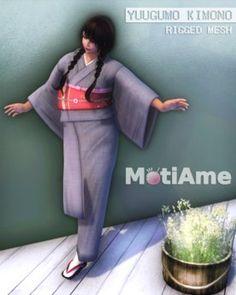 29b33822484b Second Life Marketplace -  MotiAme Yuugumo Kimono DEMO