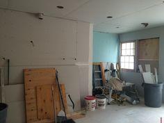 Progress -- we have walls!