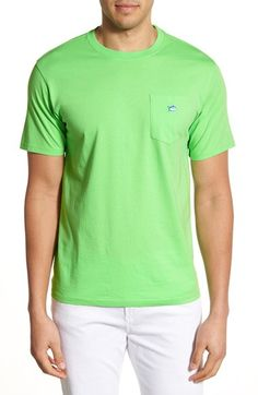 Southern Tide Embroidered Pocket T-Shirt