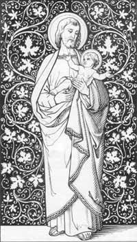 Saint Joseph holding Jesus                                                                                                                                                      More