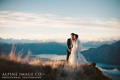 Wanaka Wedding - Photography by Alpine Image Co.