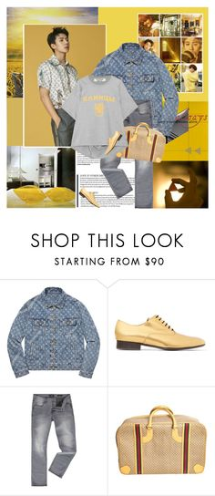 """""""Every summer has its own story"""" by rainie-minnie ❤ liked on Polyvore featuring WALL, Louis Vuitton, Marni, GUESS, Gucci and Junya Watanabe"""