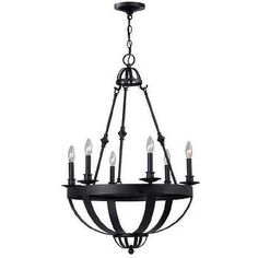 Addison 4-light Black-finished 17-inch Chandelier - Google Search