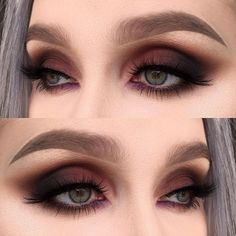 | | PINTEREST - @CHLOECURLY | | @meltcosmetics dark matter stack and promiscuous from the love sick stack